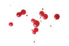 Daling van bloed royalty-vrije stock afbeelding