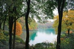 Daling van Central Park New York Royalty-vrije Stock Afbeelding