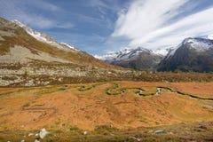 Daling van de Alpen Stock Afbeelding