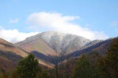 Daling van de bergen Stock Foto's