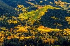 Daling van de Stoombootlentes Colorado Stock Afbeeldingen