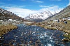 Daling van het schoonheids de volledige water royalty-vrije stock foto's