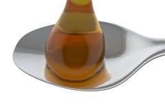 Daling van honing Stock Foto's
