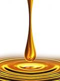 Daling van olie vector illustratie
