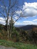Daling van Smokey Mountains stock fotografie