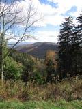 Daling van Smokey Mountains stock afbeelding