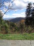 Daling van Smokey Mountains royalty-vrije stock foto's