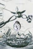 Daling van tijd Royalty-vrije Stock Foto's