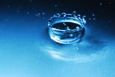 Daling van water Royalty-vrije Stock Afbeeldingen