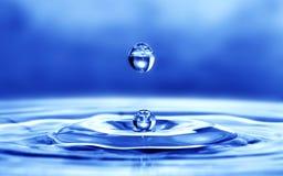 Daling van water Stock Foto's