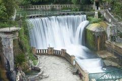 Dalingen op de rivier Royalty-vrije Stock Foto