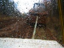 Dalingen op het glas Stock Foto's