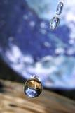 Dalingen in ruimte Royalty-vrije Stock Foto's