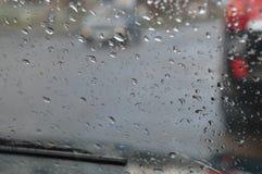 Dalingen van de regen Stock Foto's