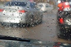 Dalingen van de regen Royalty-vrije Stock Afbeelding