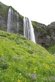 Dalingen van IJsland Royalty-vrije Stock Foto