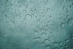 Dalingen van regen Royalty-vrije Stock Foto's