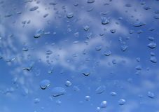 Dalingen van regen Royalty-vrije Stock Foto