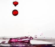 Dalingen van roze Stock Afbeelding