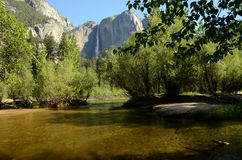Dalingen in Yosemite Royalty-vrije Stock Fotografie