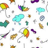 Dalings kleurrijk patroon Royalty-vrije Stock Afbeeldingen