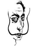 daliSalvador vektor illustrationer