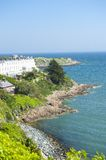 Dalkey coast Royalty Free Stock Images