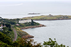 Dalkey Island viewed from Killiney Hill Stock Photos