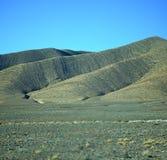Dalkulle i africa Marocko den torra bergjordningen för kartbok Arkivfoton