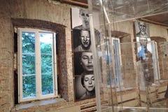 19/92 Dall'inizio Mostra di arte moderna a Mosca Immagini Stock Libere da Diritti
