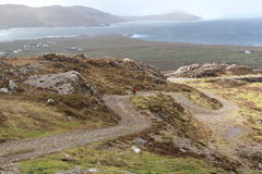 Dalla cima in Allihies, sughero ad ovest, Irlanda Immagini Stock Libere da Diritti