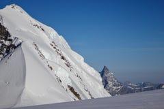 Dalla cima di Monte Rosa Fotografie Stock