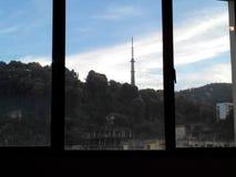 Dalla finestra Immagini Stock
