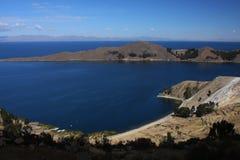 Dalla parte superiore dell'isola di Sun Immagine Stock Libera da Diritti