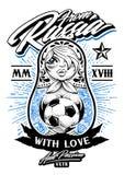 Dalla Russia con amore Fotografie Stock Libere da Diritti