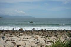 Dalla spiaggia Fotografie Stock Libere da Diritti