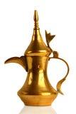 Dallah - der traditionelle arabische Kaffepotentiometer Lizenzfreie Stockfotos