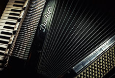 Dallape Accordion From Italy Stock Photography