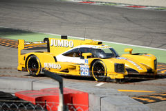 Dallara P217 Le Mans Prototype at Monza. 2017 European Le Mans Series teams took part in a two days test session at the Autodromo Nazionale Monza Royalty Free Stock Photo