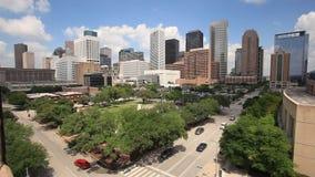 Dallas śródmieście, Teksas, usa zdjęcie wideo