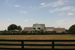 dallas около southfork ранчо стоковые фото