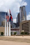 Dallas. Places in Texas - Dallas in the morning royalty free stock photography