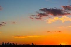 Dallas anaranjada Fotografía de archivo libre de regalías