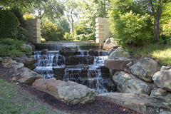 Dallas Arboretum landscapes Royalty Free Stock Photography