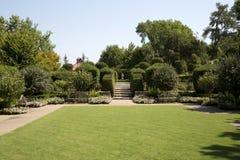 Dallas Arboretum landscapes design Stock Image