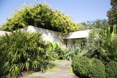 Dallas Arboretum-landschappen royalty-vrije stock afbeelding