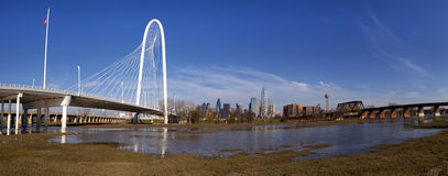 Dallas Bridge Images stock