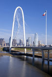 Dallas Bridge Photographie stock