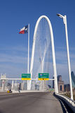 Dallas Bridge Royalty Free Stock Photo