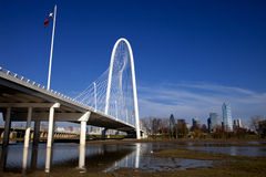 Dallas Bridge Stock Photo